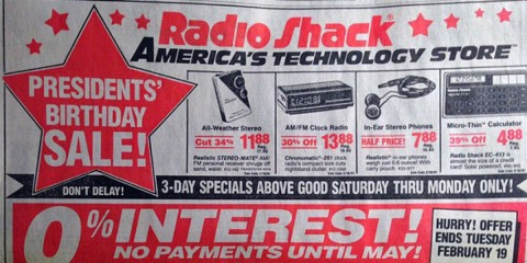 1991 Radio Shack Ad - Your Cellphone Can Do All of This!