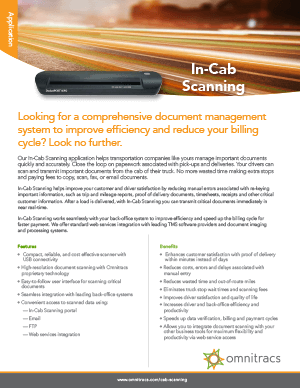 In-Cab Scanning Brochure