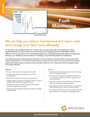 Fault Monitoring Brochure