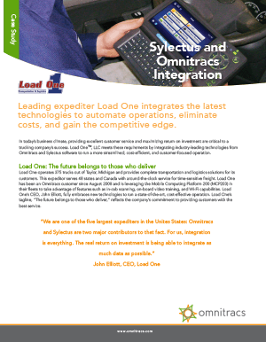 Sylectus Load One CaseStudy