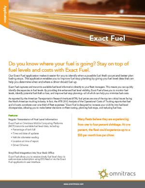 Exact Fuel Brochure