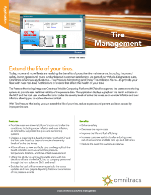 Tire Management Brochure