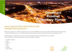 Direct store delivery routing fleet software