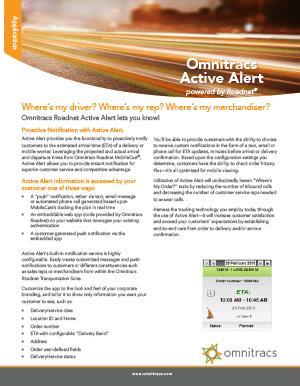 Active Alert Brochure