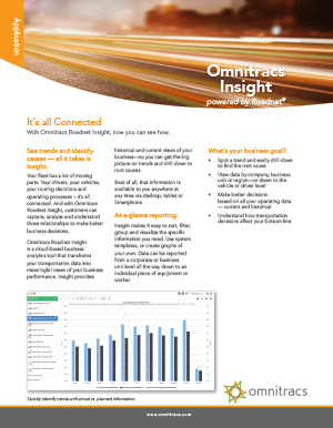 Roadnet Insight Brochure