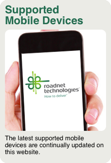 Roadnet Supported Devices