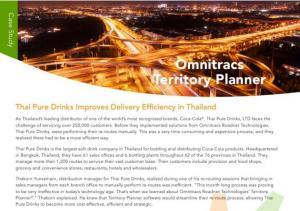 International Beverage Distributor Delivery Routing Software
