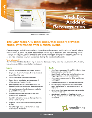 XRS Black Box Reconstruction Brochure