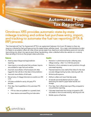 XRS IFTA Brochure