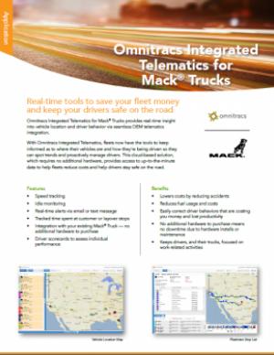 Omnitracs Integrated Telematics for Mack Trucks | Omnitracs