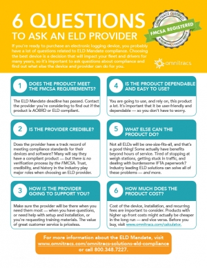 thumbnail image for six questions to ask your eld provider infographic