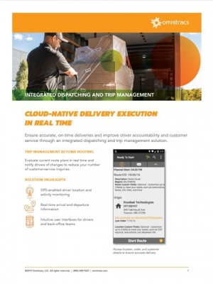 new integrated dispatching brochure thumbnail image