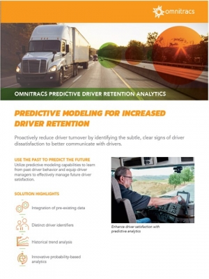 predictive driver retention analytics brochure thumbnail image