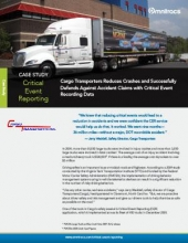 thumbnail image for cargo transporters critical event reporting case study