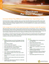 thumbnail image for per diem manager brochure