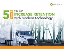 5 ways to increase driver retention with modern technology