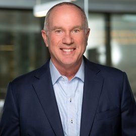 headshot of omnitracs coo pat mccaffrey