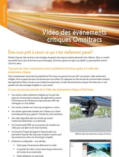 critical event video brochure thumb french
