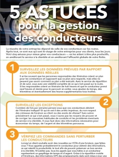 5 driver management tips infographic thumb french